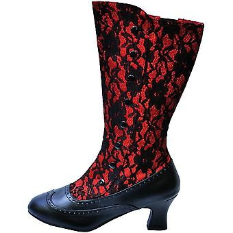 Boot Spooky Red Size 8