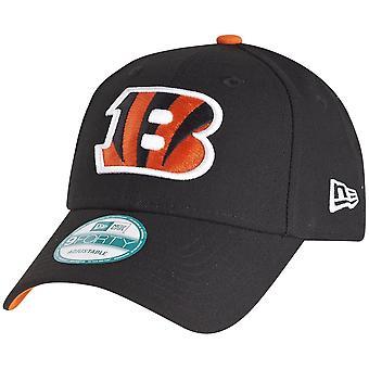 New Era 9Forty Cap - NFL LEAGUE Cincinnati Bengals schwarz