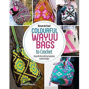 Farverige Wayuu poser til Hæklet: en Guide til Making Tapestry Hæklet tasker