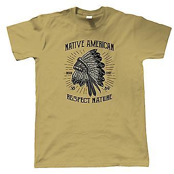Native American Mens T-Shirt   Reserve Preserve Wildlife Plant Tree Animal Spirit    Hope Laughter Love Good Time Vibes Memories Life    Pop Culture Gift Him