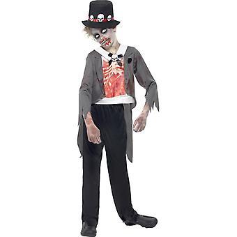 Zombie brudgommen drakt