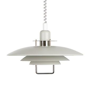 BELID Primus II 430mm Rise And Fall Light pendentif en or blanc et
