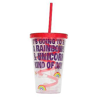 Iris The Unicorn Straw Cup