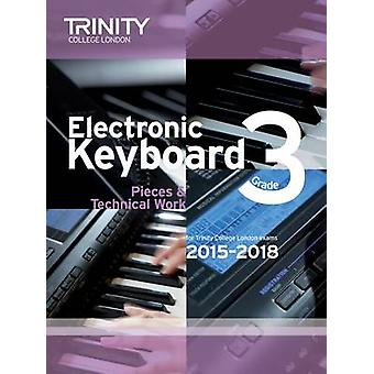 Electronic Keyboard 2015-2018 - Grade 3 - 9780857363749 Book