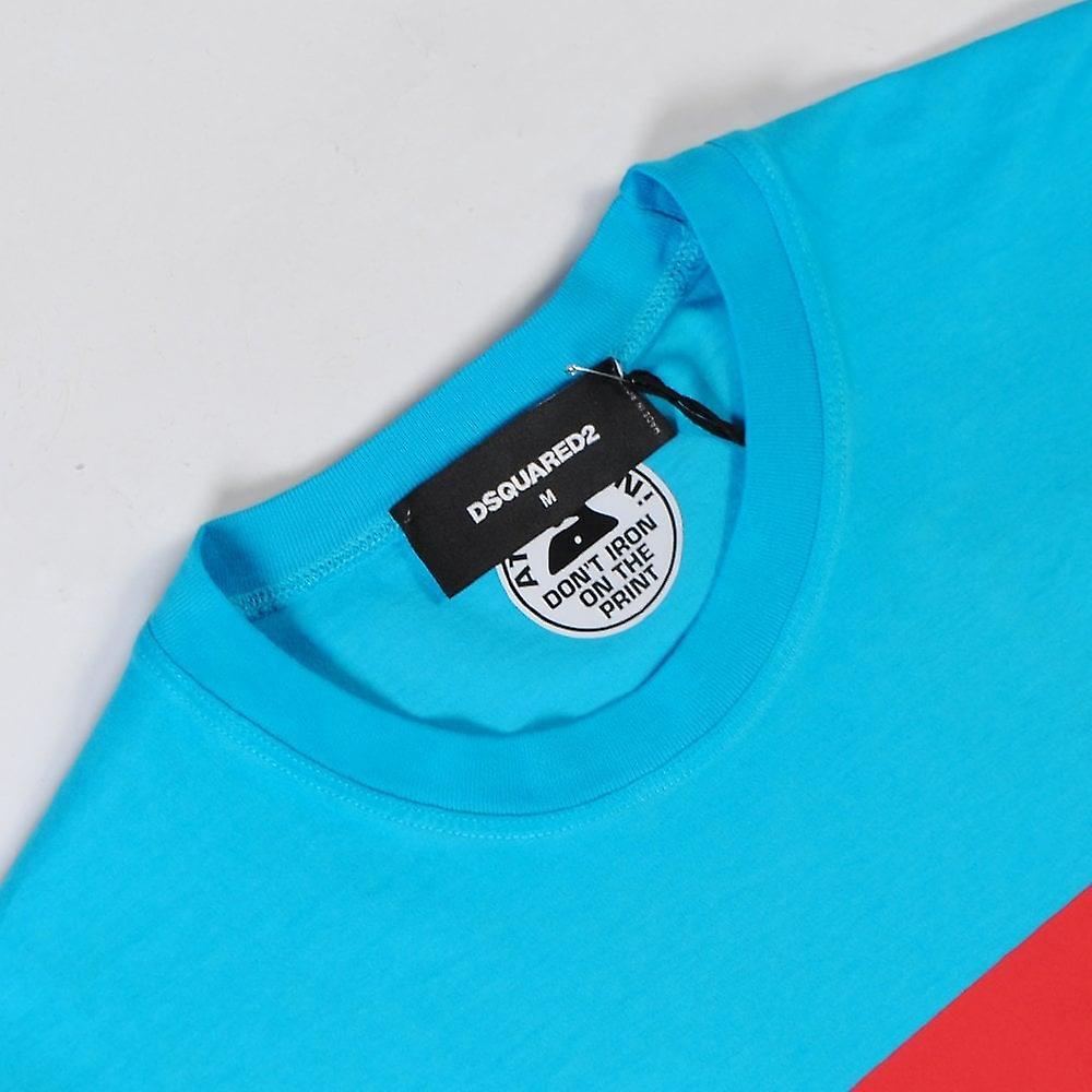 T-shirt con stampa logo Dsquared2
