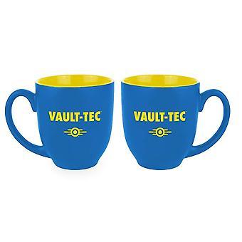 Fallout mug bóveda-Tec Cup-azul-amarillo