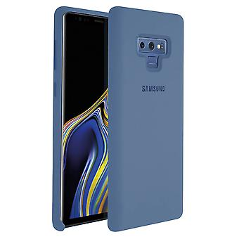 Samsung Galaxy Note 9 Case Original Samsung Silikon Soft Touch Cover Blue