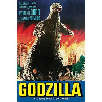 Poster - Studio B - Godzilla - Fire 36x24