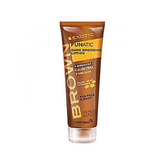 Tannymaxx Brown Exotic Funatic For Face And Body Deep Bronzing Lotion - 125ml