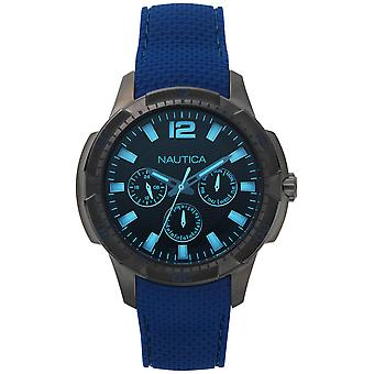 Nautica san diego Japanese Quartz Analog Man Watch with NAPSDG004 Silicone Bracelet