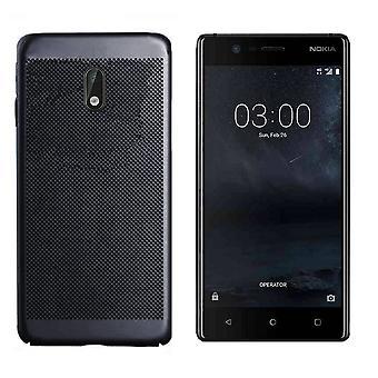Nokia 8-fodral svart - mesh hål