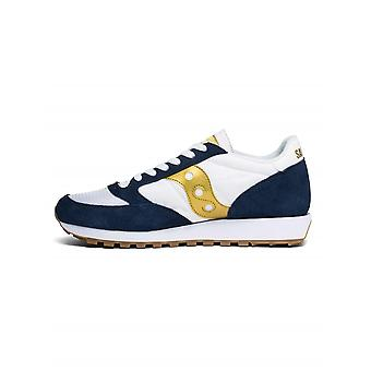 Saucony Navy, White & Gold jazz original vintage sneaker