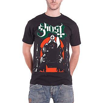 Banda de procesión de T Shirt Logo Opus Mens negro oficial del fantasma