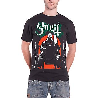 Ghost T Shirt processie band Logo Opus Mens Black officiële