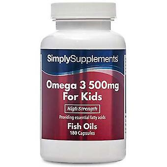 オメガ-3-子供-500 mg