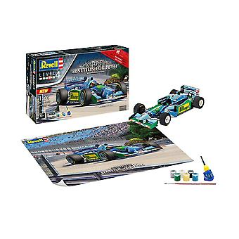 Revell 5689 Benetton's B194 Gift Set, White Plastic Model Kit