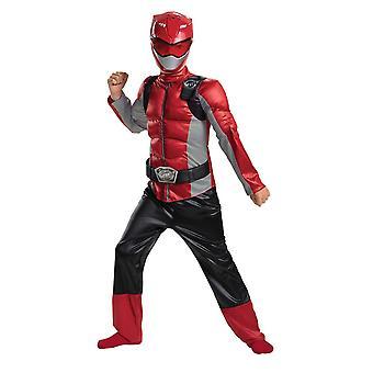 Boys Red Ranger Costume - Power Rangers