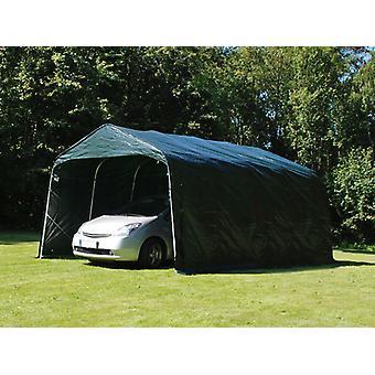 Tenda garage PRO 3,6x4,8x2,68m, PVC, Verde
