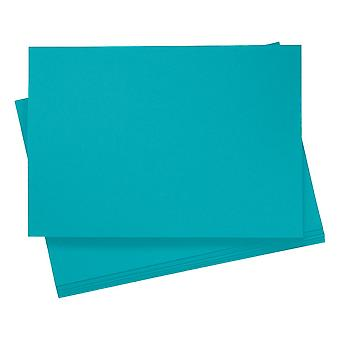 20 A4 Clear Blue Card Sheets for Crafts