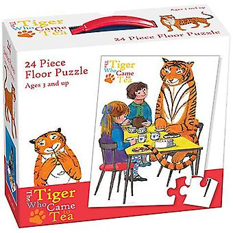 The Tiger Came To Tea 24 Piece Floor Puzzle