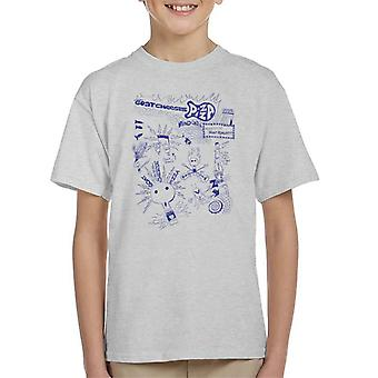 Zits Biro Doodle Collection Kid's T-Shirt