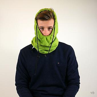 Fleece Hood 5in1 Green