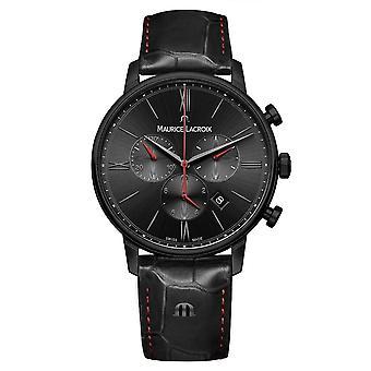 Maurice Lacroix EL1098-PVB01-310-1 Men's Eliros Chronograph Wristwatch