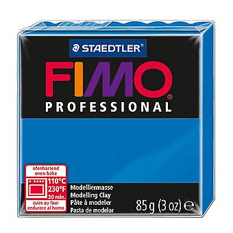 Fimo professionele modellering klei, blauw, 85 g