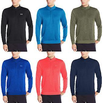 Under Armour Mens Storm Half Zip Long Sleeve Sports Training Sweater Fleece Top