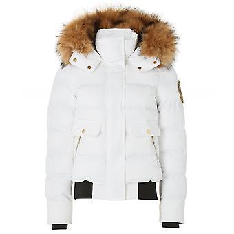 Holland Cooper Ventina Faux Fur Trim Puffer Jacket