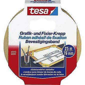 tesa 57416-00000-02 57416-00000-02 Maskeringstejp tesa® (L x W) 25 m x 19 mm 25 m