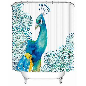 Royal Peacock Shower gardin
