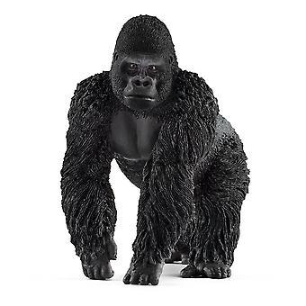 Schleich villi elämä uros Gorilla lelu kuva (14770)