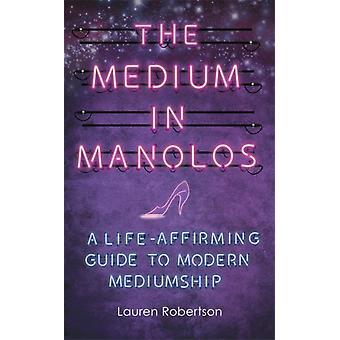 Medium in Manolos by Lauren Robertson