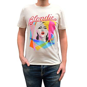 Amplified Blondie Ahoy White Crew Collo T-Shirt T-Shirt