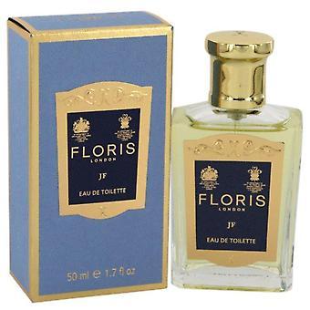 Floris jf eau de toilette spray door floris 541547 50 ml