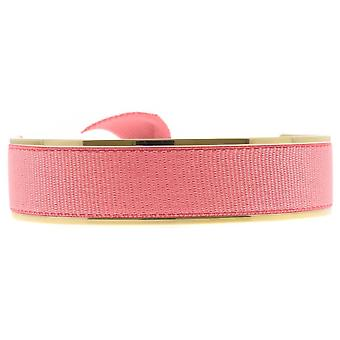 Les verwisselbare armband A47532-Jonc Ruban verwisselbare 12mm Coral Clair vrouwen
