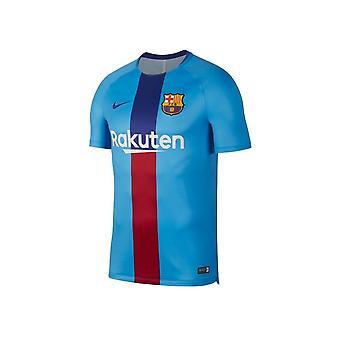 Nike FC Barcelona Squad SS GX2 894323482 piłka nożna cały rok mężczyzn t-shirt