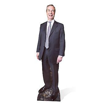 Nigel Farage UKIP Leader British Politician Lifesize Cardboard Cutout / Standee