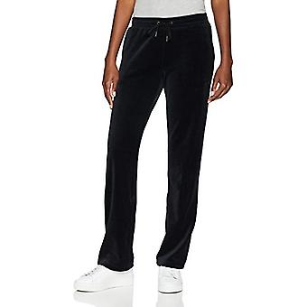 Starter Women's Velour Track Pants, Exclusif, Noir, Large