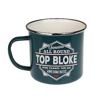 História e Heráldica Top Bloke Tin Mug 7