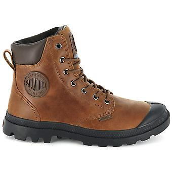 Palladium Pampa Sport Cuff WP Lux 73231-733-M Men's Boots Brown Sneakers Sports Shoes