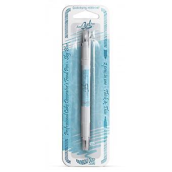 Poeira do arco-íris double-sided Food Pens Comestível Food Pen Sky Blue