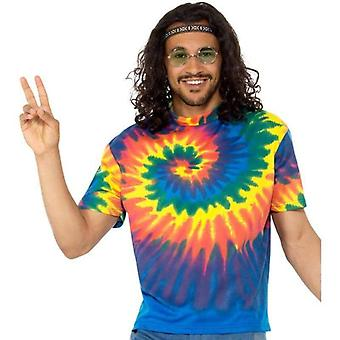 1960s Tie Dye T-Shirt Adult Multi