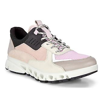 Ecco Womens 2020 Multi-Vent W Leather Waterproof Breathable Comfort Trainers