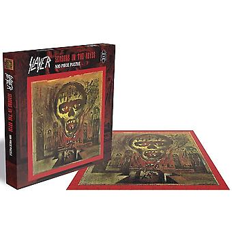 Slayer Seasons In The Abyss 500 pc jigsaw puzzle 410mm x 410mm (ze)