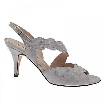Sabrina Chic Grey Sling Back Sandal