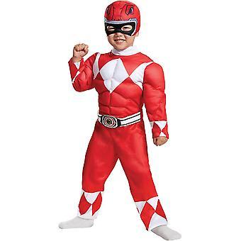 Red Ranger Toddler Costume
