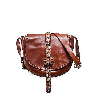 Campomaggi Small Studded Leather Shoulder Bag
