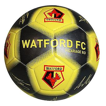 Watford FC Printed Player Signature Football